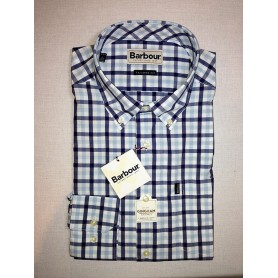 Barbour Bruce sea blue - Camisas BARBOUR