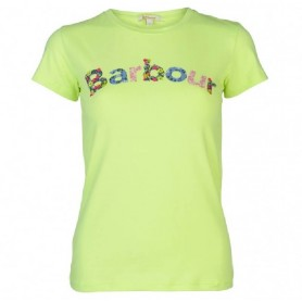 Camiseta Barbour Freya light green