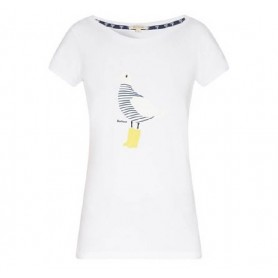 Avonmouth white - LTS0051WH11 - Barbour - mujer - Camisas, Polos y Camisetas BARBOUR