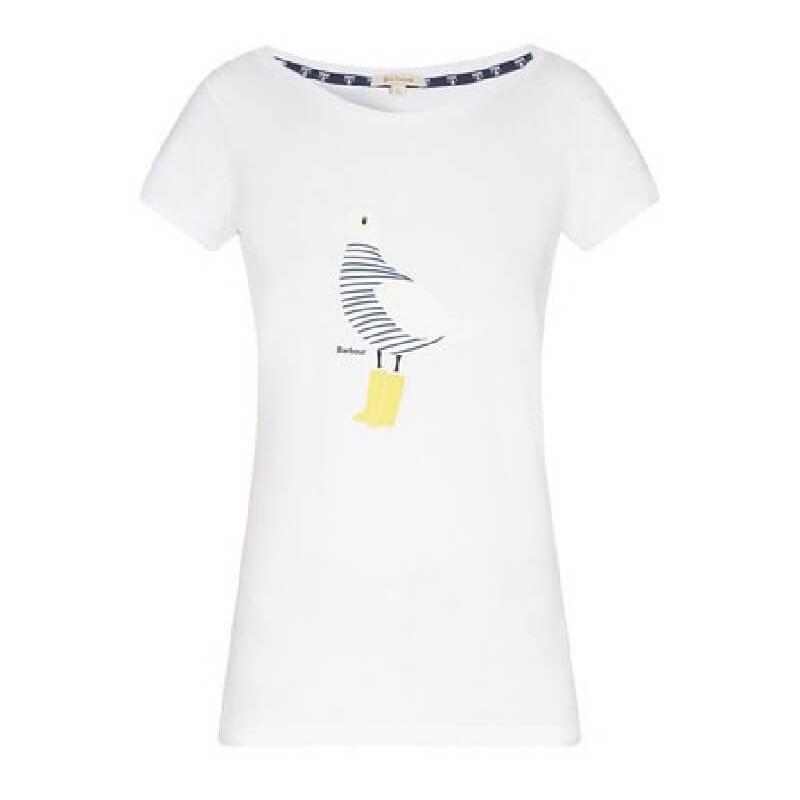 Camiseta Barbour Avonmouth white