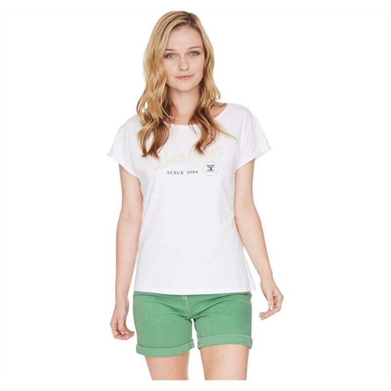 Camiseta Barbour Burnham Tee white