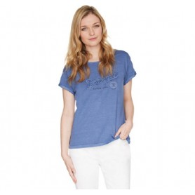 Camiseta Barbour Burnham Tee blue