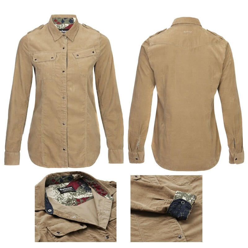 Camisa Barbour Brompton Trench