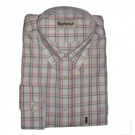 Camisa Barbour Hector Pink