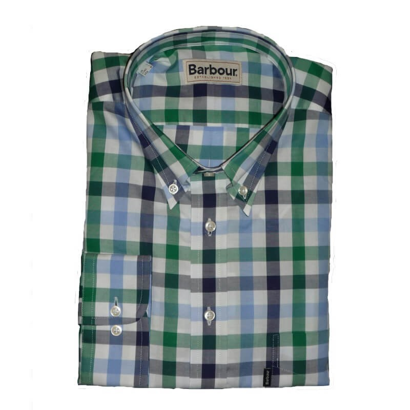 Camisa Barbour Gregory Turf