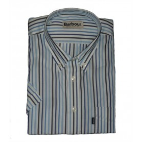 Camisa Barbour Francis Sky