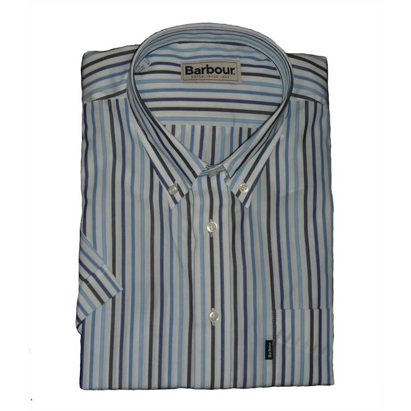 Camisa Barbour Francis Sky