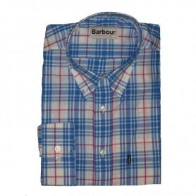 Camisa Barbour Felix White