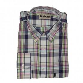 Camisa Barbour Hugh Pink