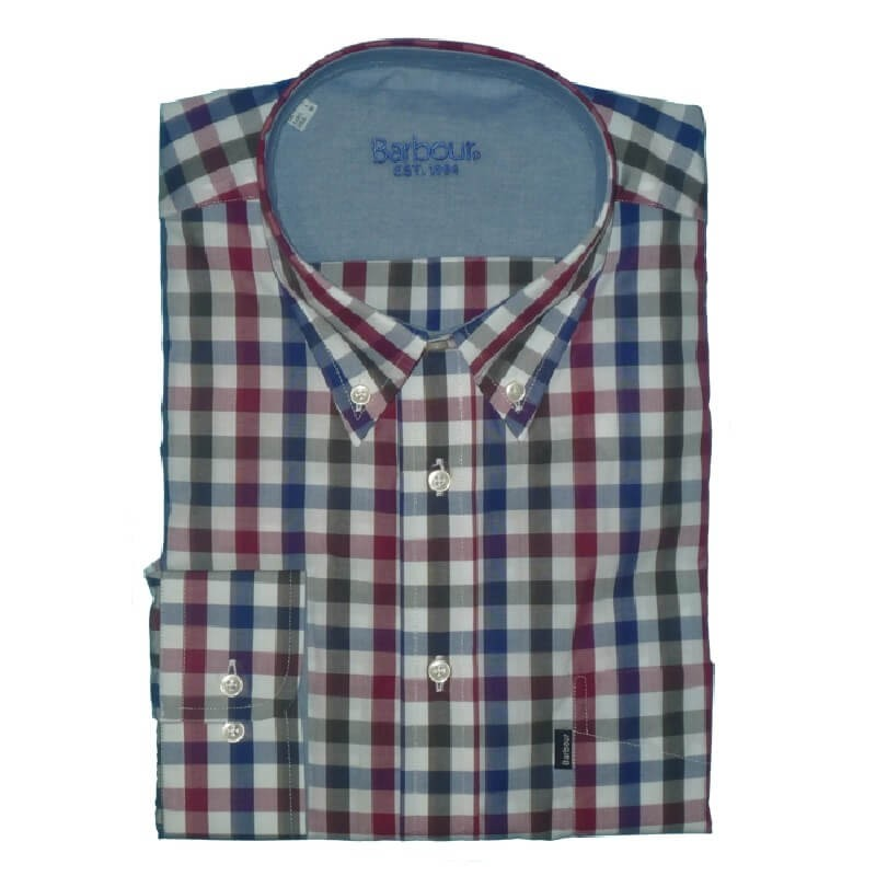 Camisa Barbour Sporting BS2120321 Cuadro Red