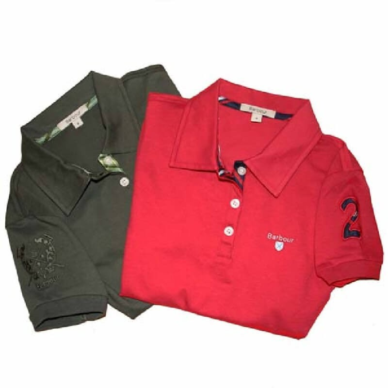Equestrian olive - W115 - Barbour - mujer - Camisas, Polos y Camisetas BARBOUR