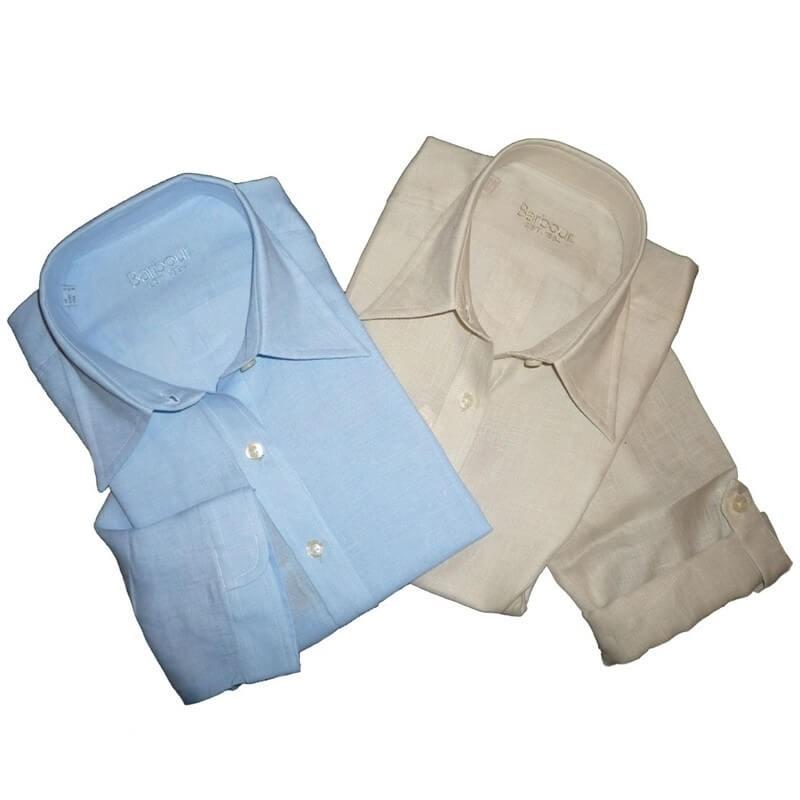 Camisa Barbour Nina 251 azul