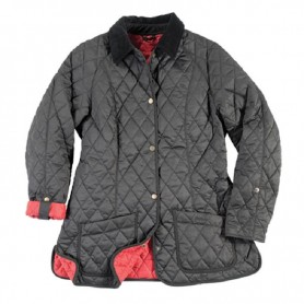 Chaqueta Barbour Yard black