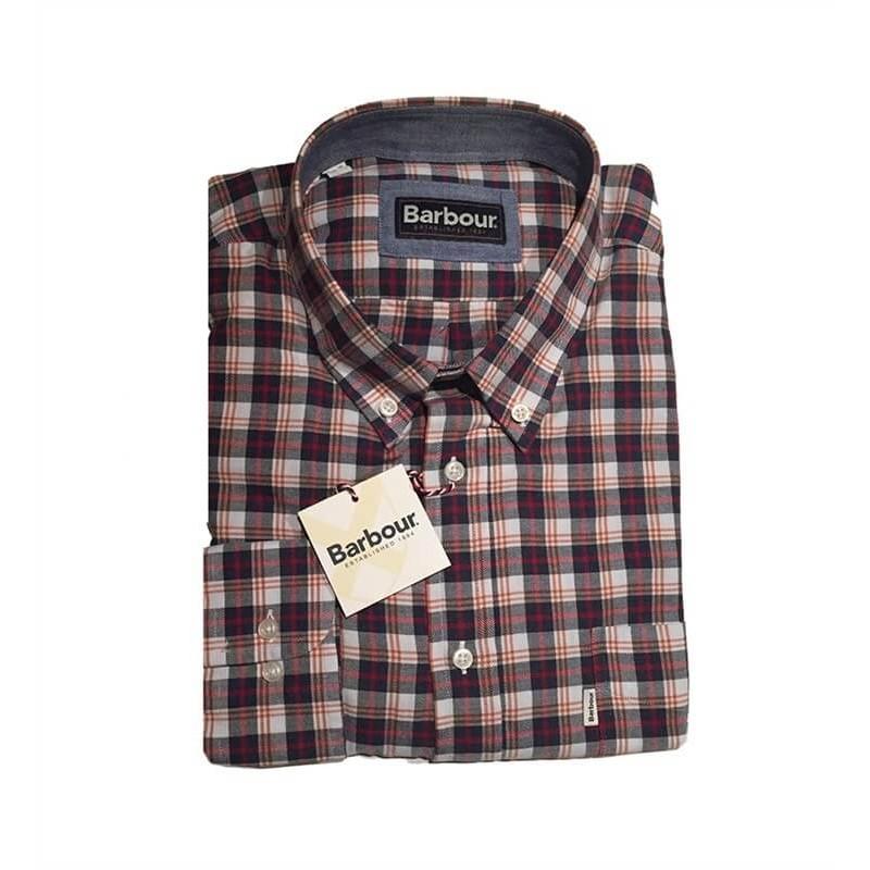 Camisa Barbour Tom BS216183