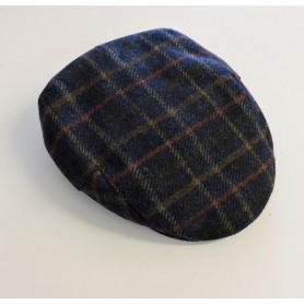 Gorra Barbour Moons Tweed navy bright