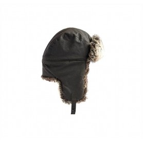 Gorro Barbour Hardwich Fur Trapper olive