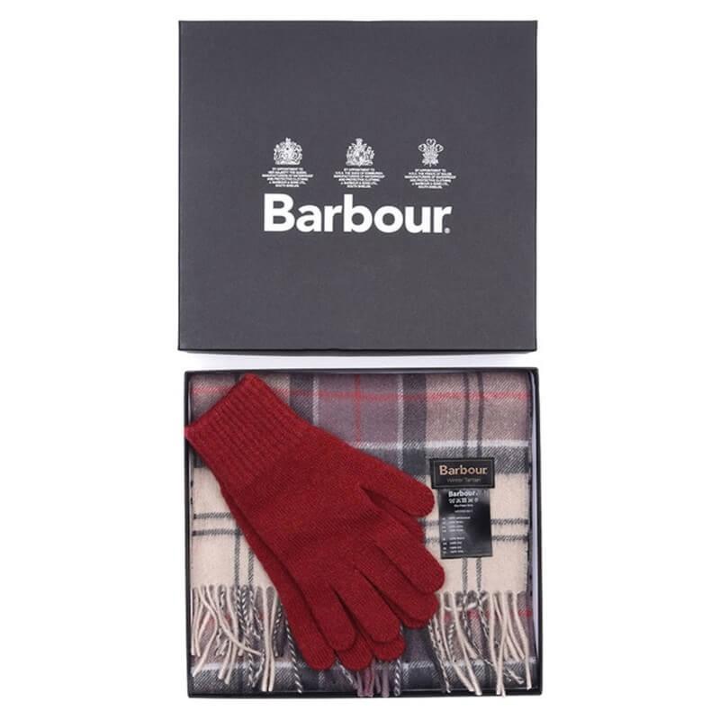 Bufanda y guantes Neutral Tartan - LAC0062BE11 - Barbour - Bufandas BARBOUR