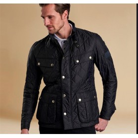 Ariel Quilt black - MQU0251BK11 - B. International - hombre - Chaquetas BARBOUR INTERNATIONAL