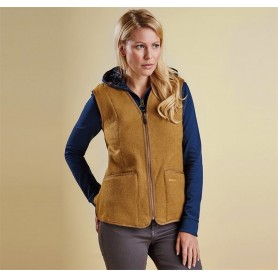 Bower brown - LFL0037BR31 - Barbour - mujer - Chalecos y Forros BARBOUR