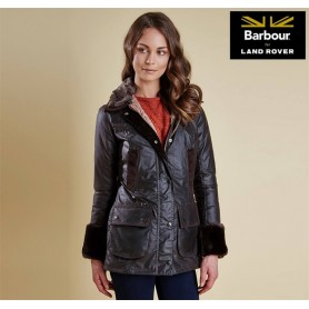 Chaqueta BARBOUR for LAND ROVER Raito Wax rustic