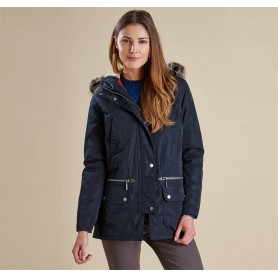 Deck Coat navy - LWB0302NY71 - Barbour - mujer - Chaquetas BARBOUR