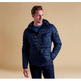 Ouston Hooded navy - MQU0712NY91 - B. International - hombre - Chaquetas BARBOUR INTERNATIONAL