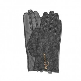 Barbour Ashby Tweed black - Guantes BARBOUR