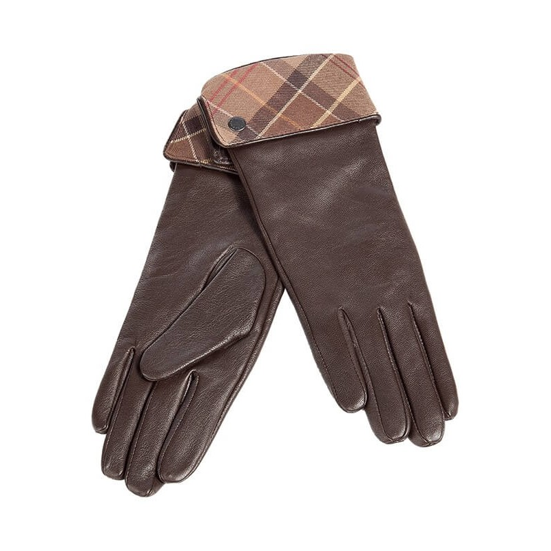 Guantes Barbour Lady Jane choc-muted