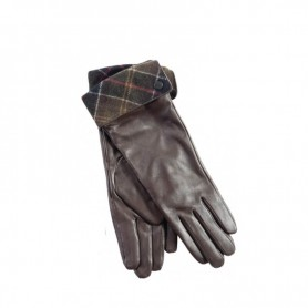 Guantes Barbour Lady Jane choc-green