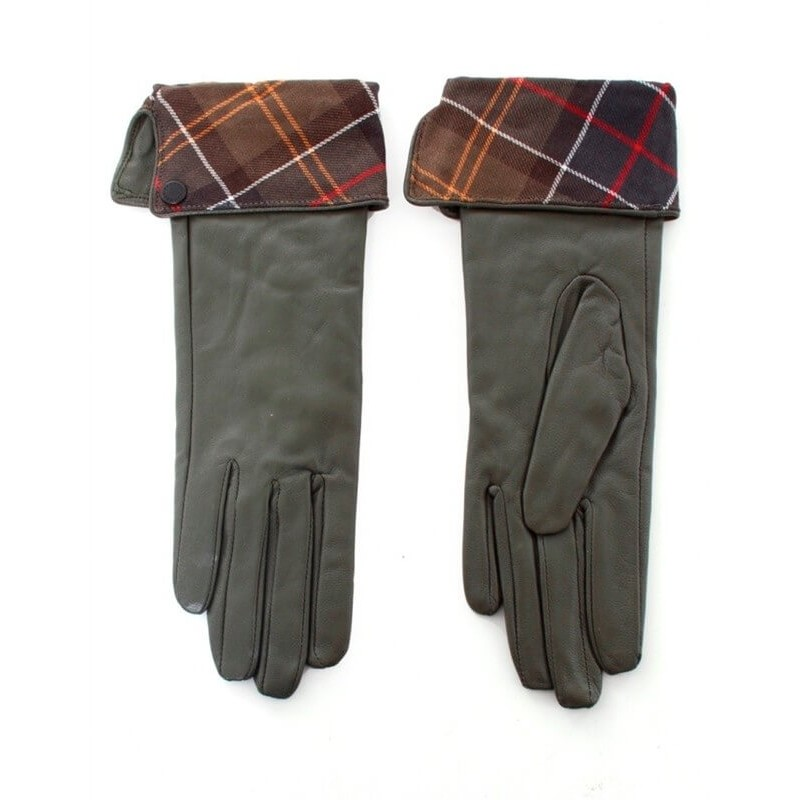Guantes Barbour Lady Jane olive-class