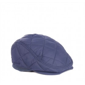 Gorra Barbour Quilted Foldaway navy
