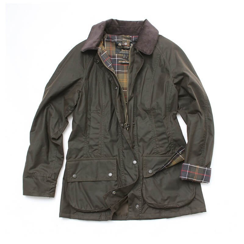 Chaqueta Barbour Classic Beadnell olive