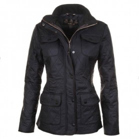 Chaqueta Barbour Utililty Polarquilt black