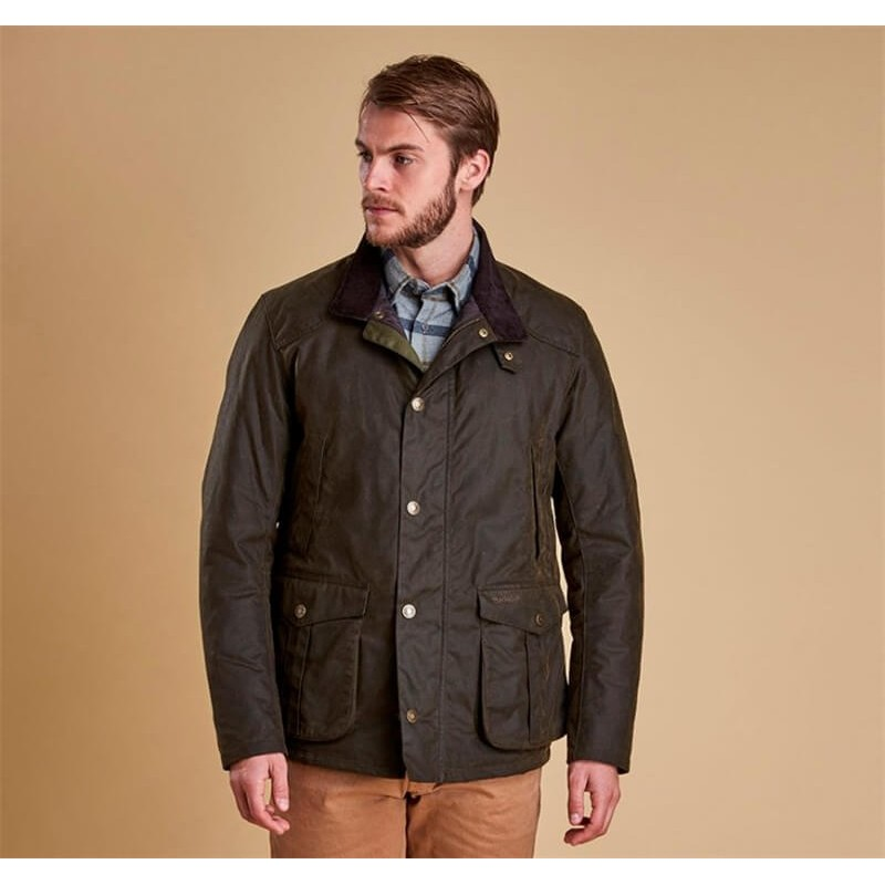 Barbour Leeward olive - Chaquetas BARBOUR