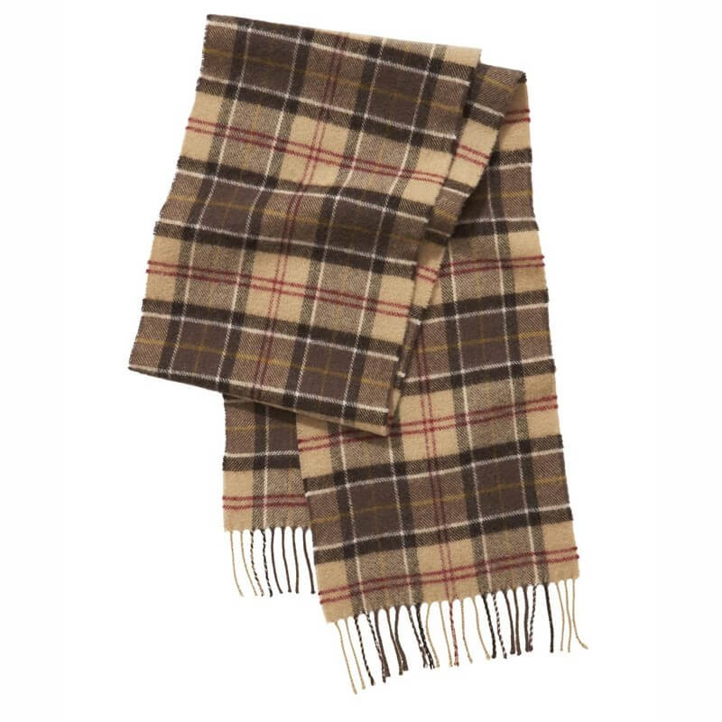 Bufanda Barbour Tartan Lambswool muted - Barbour