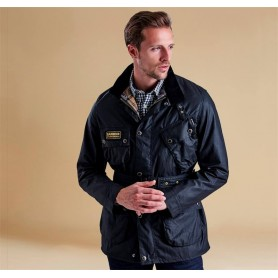 Slim International black - MWX0958BK91 - B. International - hombre - Chaquetas BARBOUR INTERNATIONAL