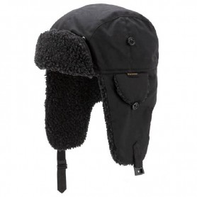 Gorro Barbour Fleece Lined Trapper black - Barbour