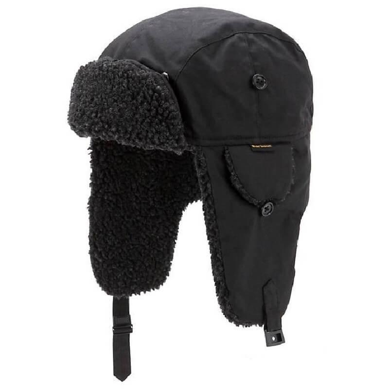 Gorro Barbour Fleece Lined Trapper black