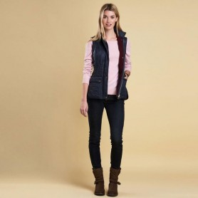 Wray navy - LQU0859NY71 - Barbour - mujer - Chalecos y Forros BARBOUR