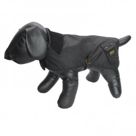 Capa Barbour International para perro black