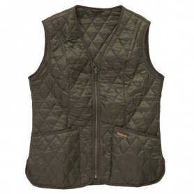 Chaleco Barbour Betty Interactive olive