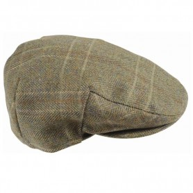 Gorra Barbour Mens Wool Crieff Flat Cap olive