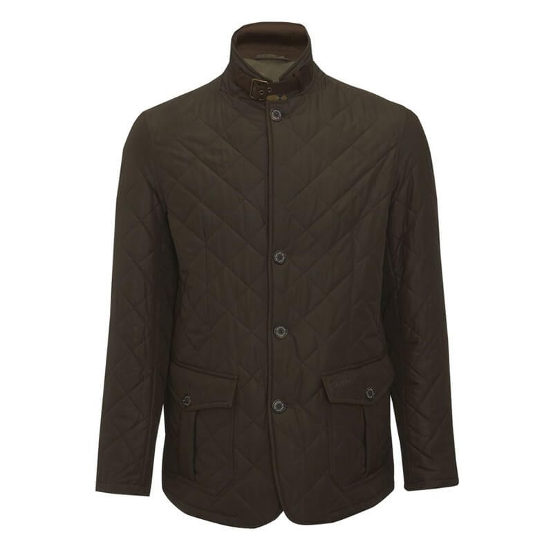 Chaqueta Barbour Quilted Lutz olive