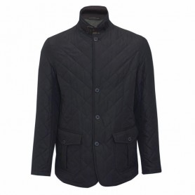 Chaqueta Barbour Quilted Lutz navy