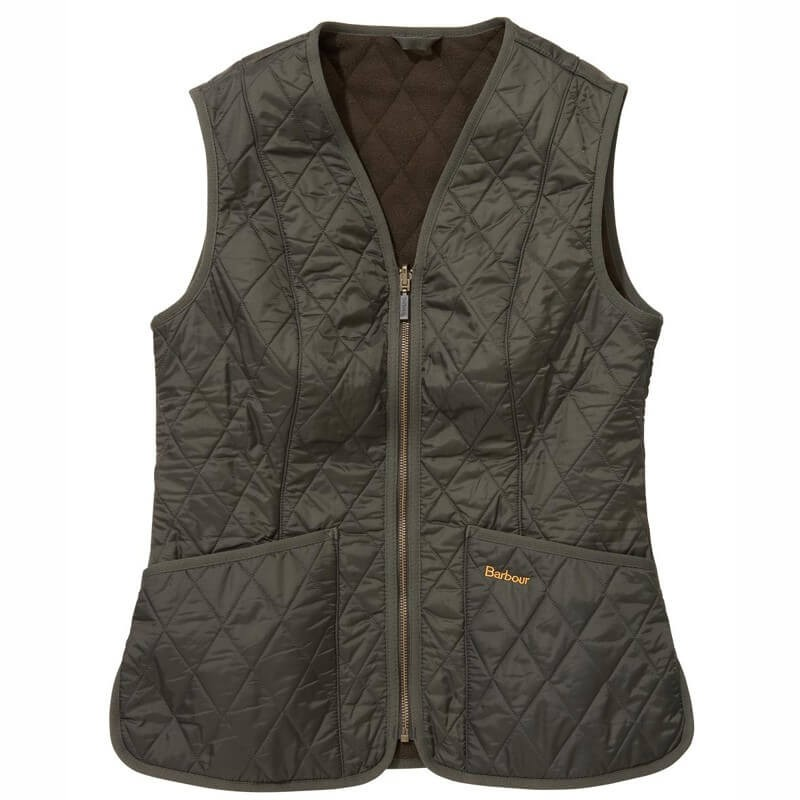 Chaleco Barbour Fleece Betty olive