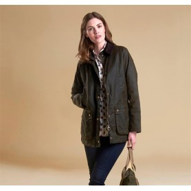Chaqueta Mujer Tipo Barbour