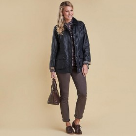 Chaqueta Barbour New Beadnell navy