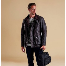 Chaqueta Barbour Duke rustic