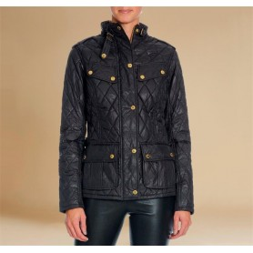 Heyford black - LQU0836BK11 - B. International - mujer - Chaquetas BARBOUR INTERNATIONAL