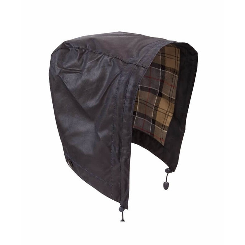 Capucha Barbour Waxed Cotton rustic